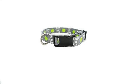 Ball is Life Dog Collar