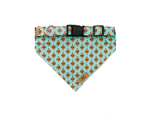 Gobble Me Up - Matching Collar & Bandana Set