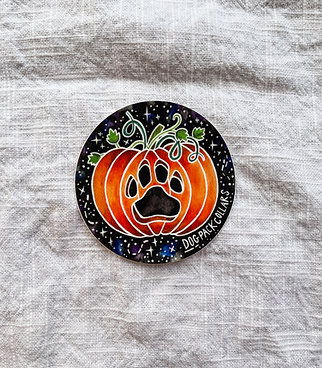 Pumpkin Paw DPC Fall Sticker