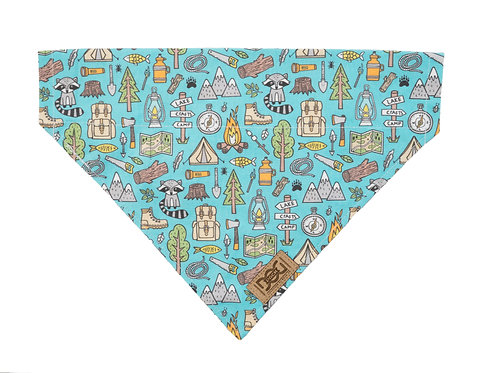 Camping and Backpacking Over the Collar Bandana