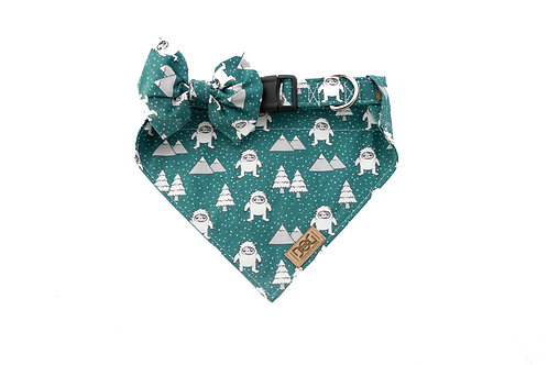 Matching Collar, Bandana, and Bow Tie Bundle