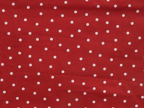 Red Polkadots - Dog Collar