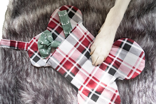 Dog Stocking, Dog Collar, and Bow Tie Bundle