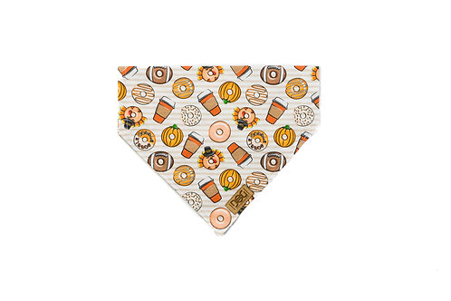 Pumpkin Spice and Everything Nice - Over the Collar Bandana