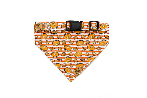 Pie Oh My - Matching Collar & Bandana Set