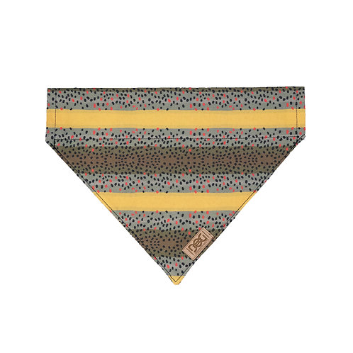 Brown Trout Over the Collar Bandana