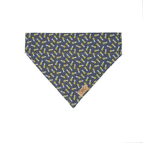 Modern Pineapples with Polkadots - Over the Collar Bandana