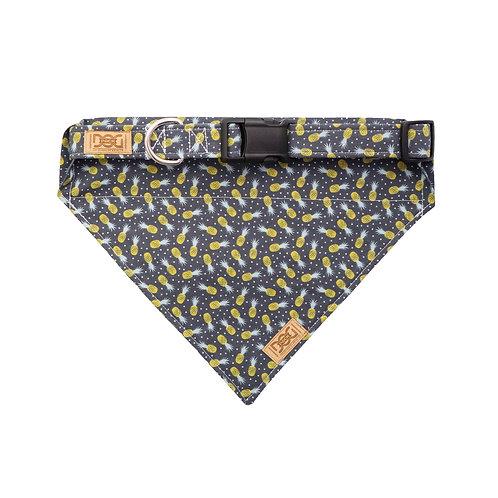 Modern Pineapples with Polkadots - Matching Collar &  Bandana