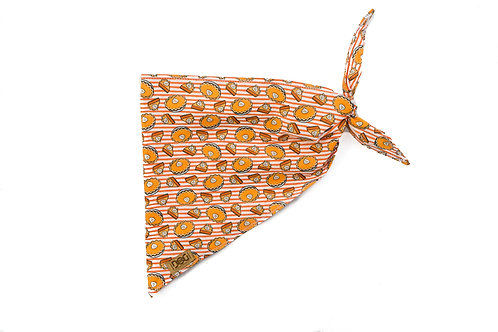 Pie Oh My - Single Layer Tie Bandana