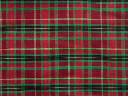 Christmas Plaid - Over the Collar Bandana