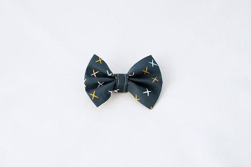 Modern Fall Dog Bow Tie