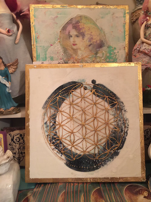 Personalized Sacred Geometry Grid 12x12