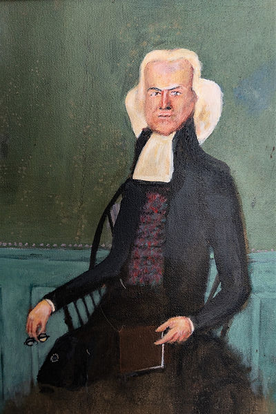 Portrait said to be of Jonathan Leavitt