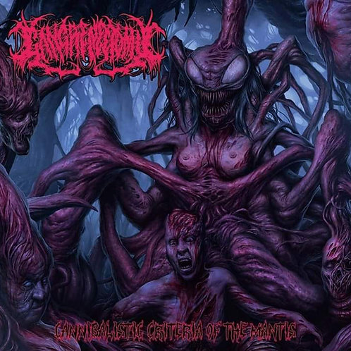 "Gangrenectomy ""Cannibalistic Criteria Of The Mantis"" CD"