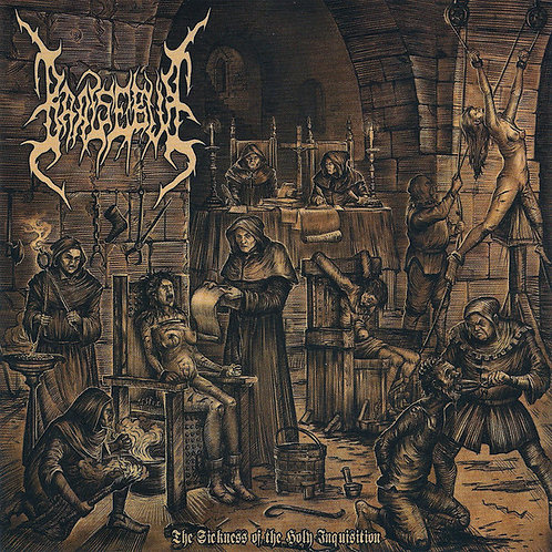 "Baalsebub ""The Sickness of the Holy Inquisition"" CD"