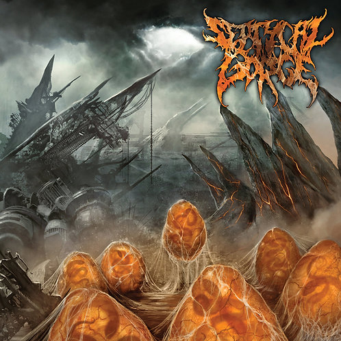 """Septycal Gorge """"Scourge of the Formless Breed"""" CD"""