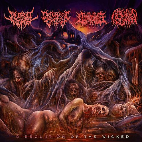 Disfigurement of Flesh/Decomposition of Entrails/Fatuous Rump/Putrid Womb CD
