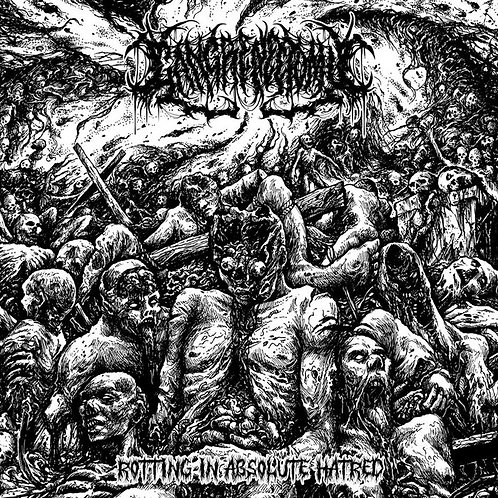 "Gangrenectomy ""Rotting In Absolute Hatred"" CD"