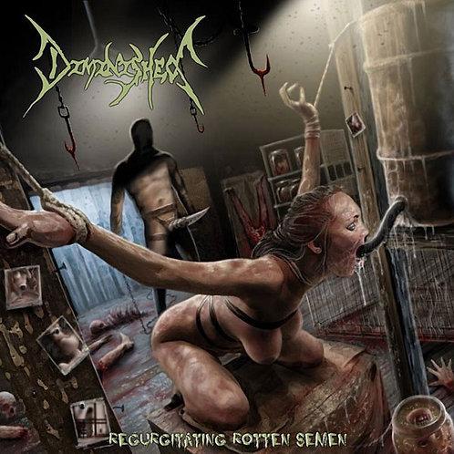"Diminished ""Regurgitating Rotten Semen"" CD"