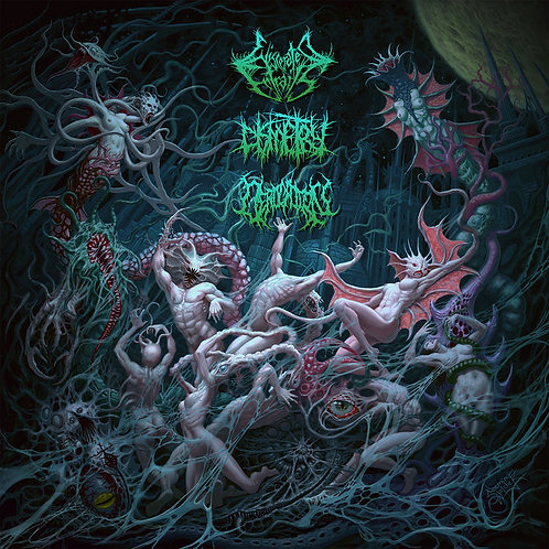 "Eviscerated Entrails/Derogation/Dismetry ""Extraterrestrial Embodiment"" CD"
