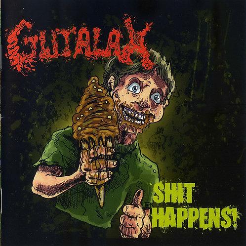 "Gutalax ""Shit Happens!"" CD"