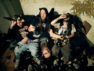 UK death metal alcoholics INEBRIOUS INCARNATE sign with Ultimate Massacre Productions!