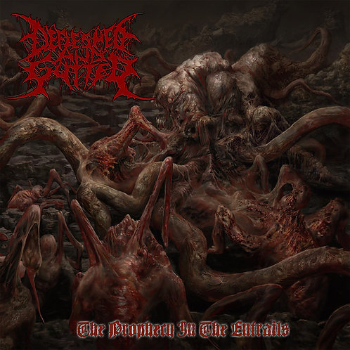 "Defleshed And Gutted ""The Prophecy in the Entrails"" CD"