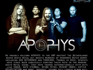Apophys signs with Ultimate Massacre Productions!