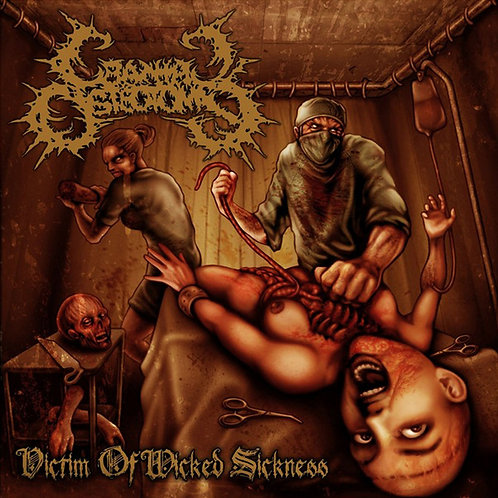 "Cranial Osteotomy ""Victim of Wicked Sickness"" CD"