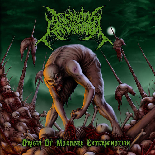 """Incivility Regurgitated """"Origin Of Macabre Extermination"""" CD"""