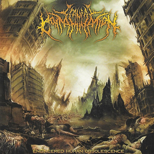 "Cranial Contamination ""Engineered Human Obsolescence"" CD"