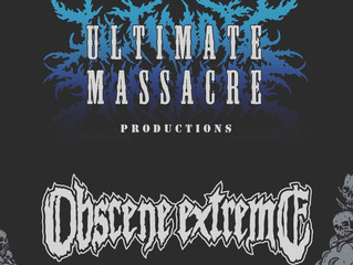 Ultimate Massacre Productions will be at Obscene Extreme 2017!