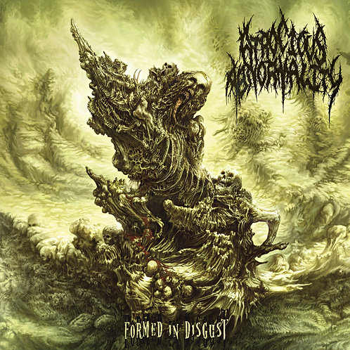 """Atrocious Abnormality """"Formed In Disgust"""" CD"""