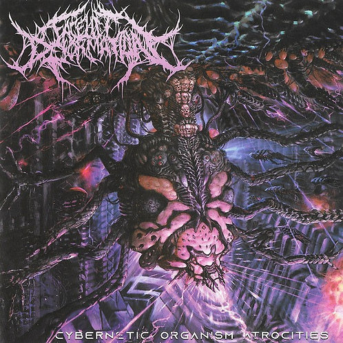 "Facelift Deformation ""Cybernetic Organism Atrocities"" CD"