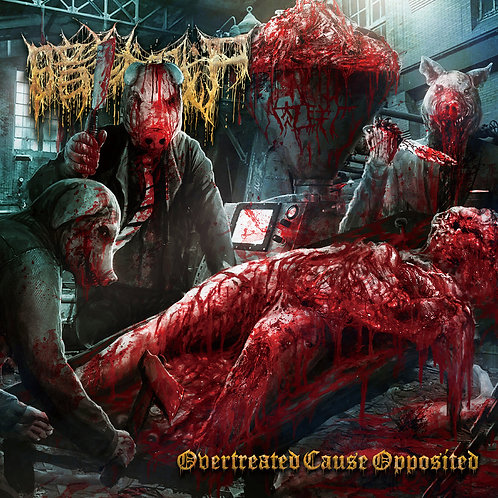 """The Dark Prison Massacre """"Overtreated Cause Opposited"""" CD"""