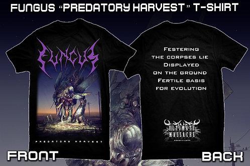 Fungus 'Predatory Harvest' t-shirt