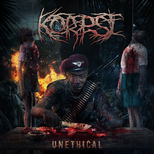 """Korpse """"Unethical"""" CD"""