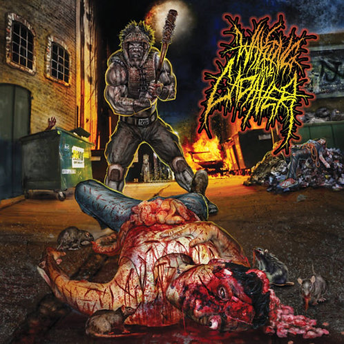 """Waking the Cadaver """"Real-Life Death"""" CD"""