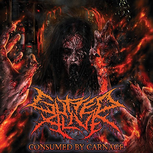 "Gutted Alive ""Consumed By Carnage"" CD"
