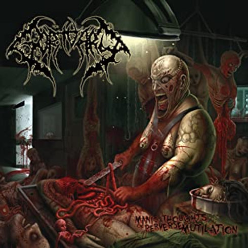 "Gortuary ""Manic Thoughts of Perverse Mutilation"" CD"