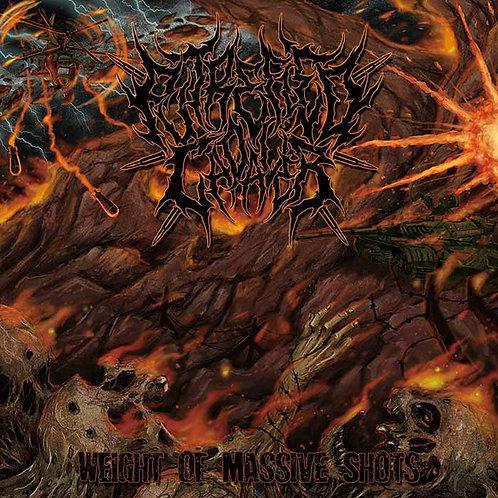 "Putrefied Cadaver ""Weight of Massive Shots"" CD"
