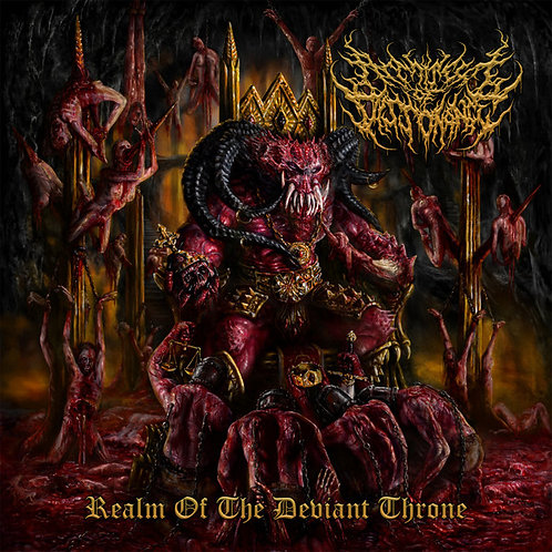 "Architect Of Dissonance ""Realm Of The Deviant Throne"" CD"