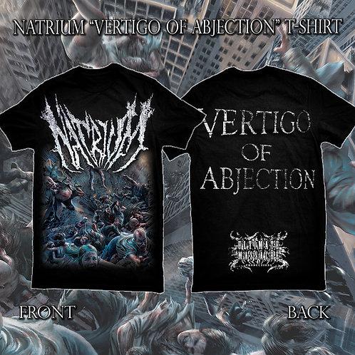"""Natrium """"Vertigo of Abjection"""" t-shirt"""