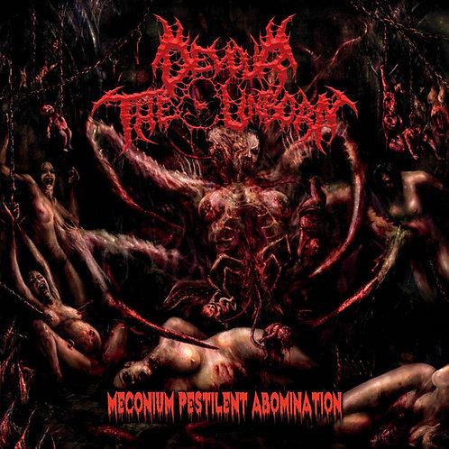 "Devour The Unborn ""Meconium Pestilent Abomination"" CD"