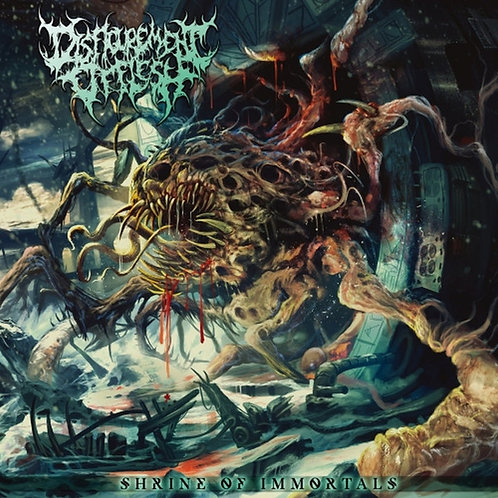 "Disfigurement Of Flesh ""Shrine Of Immortals"" CD"