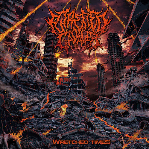 """Putrefied Cadaver """"Wretched Times"""" CD"""