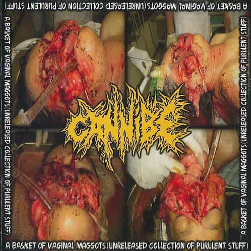 """Cannibe """"A Basket Of Vaginal Maggots"""" CD"""