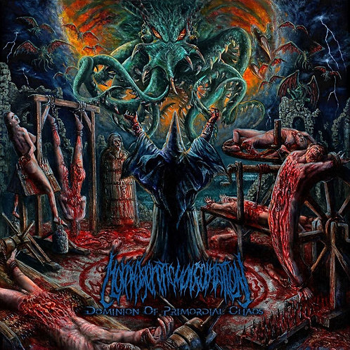 """Morphogenetic Malformation """"Dominion of Primordial Chaos"""" CD"""