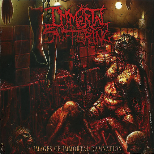 """Immortal Suffering """"Images Of Immortal Damnation"""" CD"""