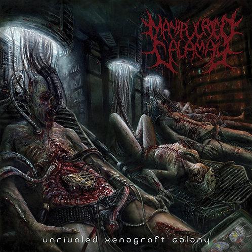 "Manipulated Calamity ""Unrivaled Xenograft Colony"" CD"